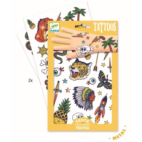 DJECO Tattoos: Bang bang