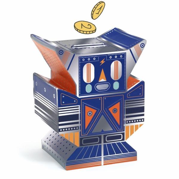 Spardose Roboter