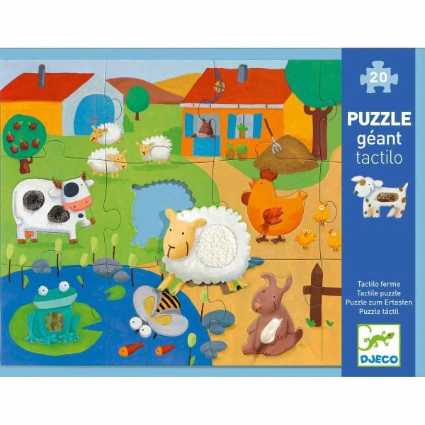 Puzzle Bauernhof - 12 Teile