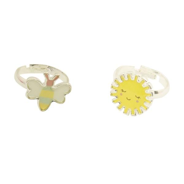 Ringe Sonne & Biene