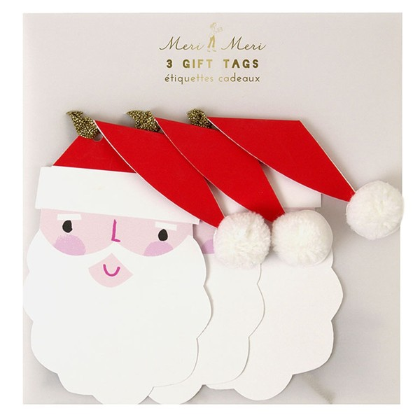 MERI MERI Geschenkanhänger Weihnachtsmann