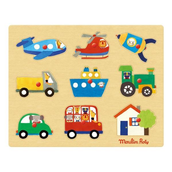 Puzzle Fahrzeuge Les Popipo