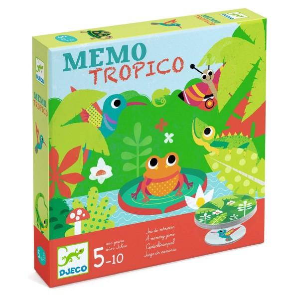 DJECO Spiel Mémo Tropico
