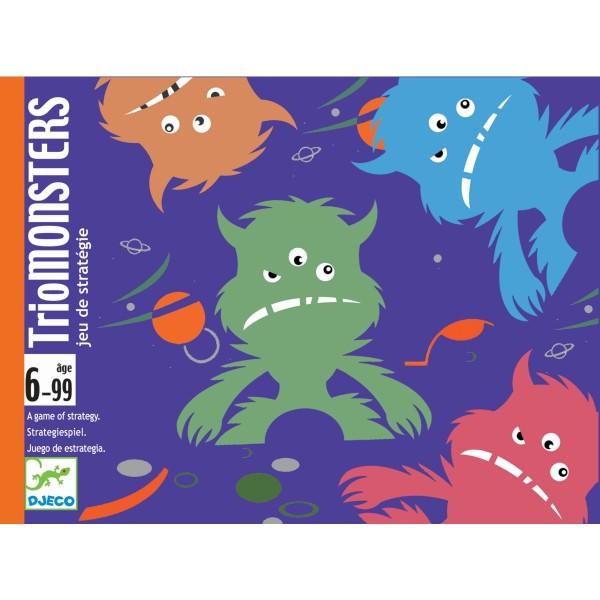 Kartenspiel TrioMonsters