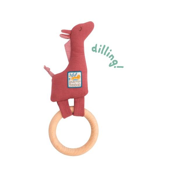 Ring-Rassel Giraffe
