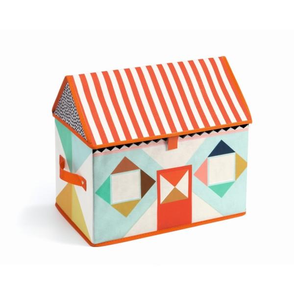 Spielzeugbox Haus