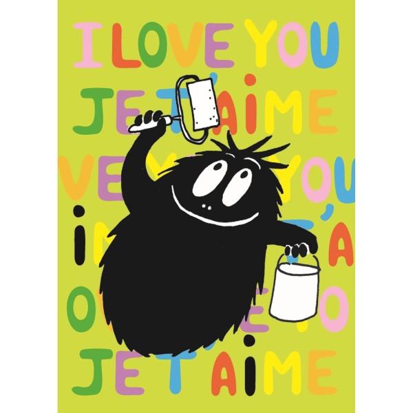 """Postkarten """"I love you"""""""