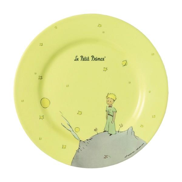 Melamin - Teller gelb Der kleine Prinz