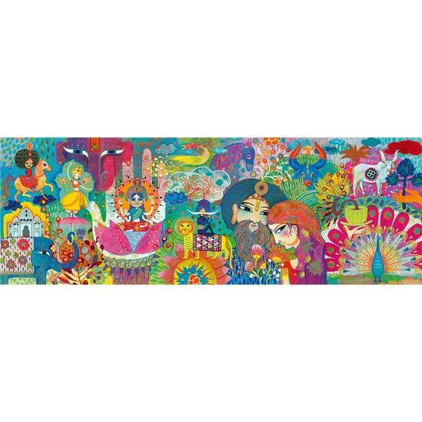 DJECO Puzzle gallery Magic India - 1000 Teile