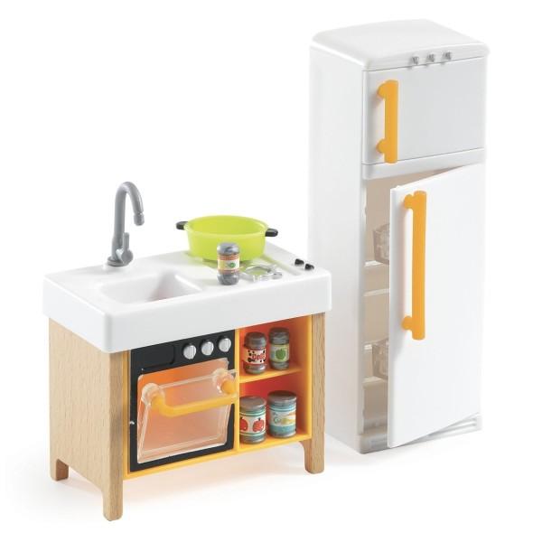 DJECO Puppenhaus: Miniküche