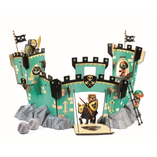 DJECO Arty Toys - Ritter: Castle on Ze Rock Teile