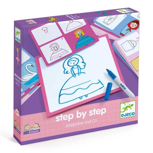 """DJECO Lernspiel: """"step by step"""" Josephine"""