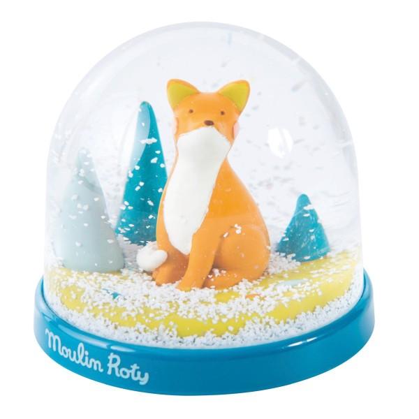 Schneekugel Fuchs