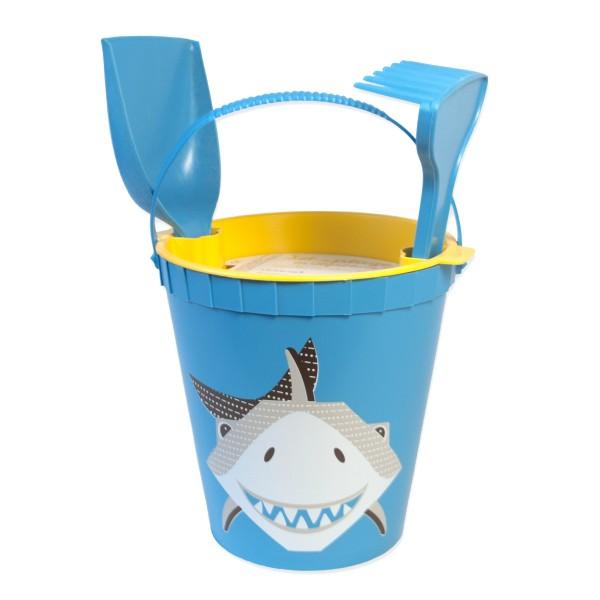 Strandspielzeug Hai- blau