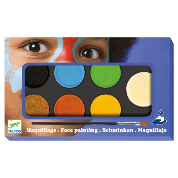 DJECO Kinderschminken mit 6 Farben