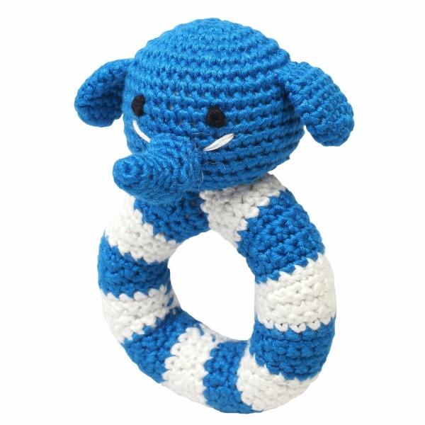 Ringrassel - Mr. Elephant blau