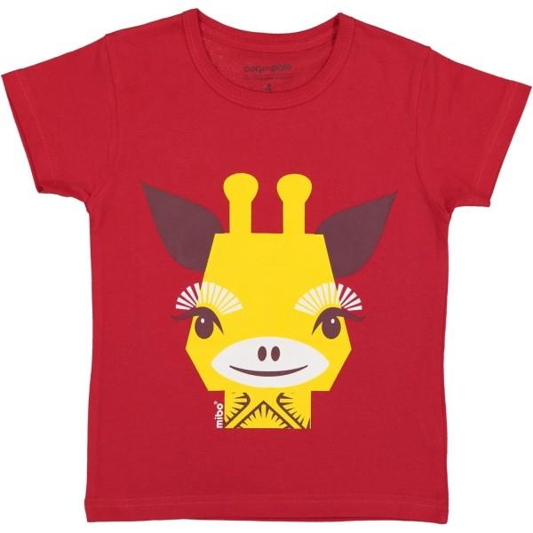 Kurzarm T-Shirt Giraffe