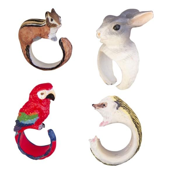 Ringe Tiere sortiert