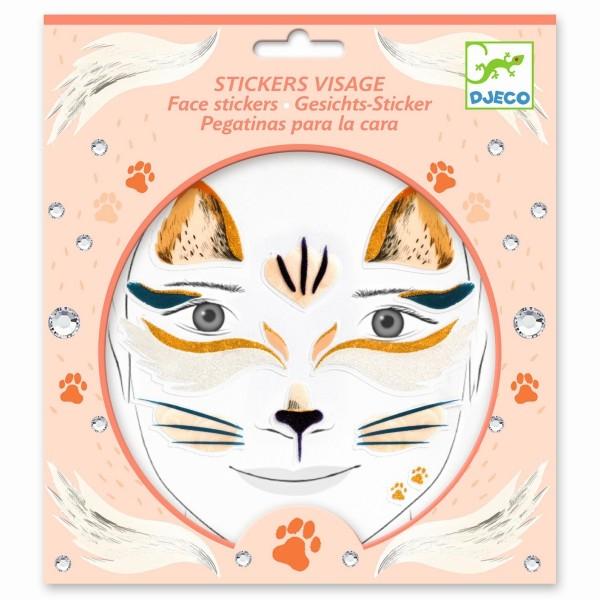 Gesichtssticker: Katze