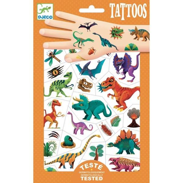 DJECO Tattoos: Dino Club