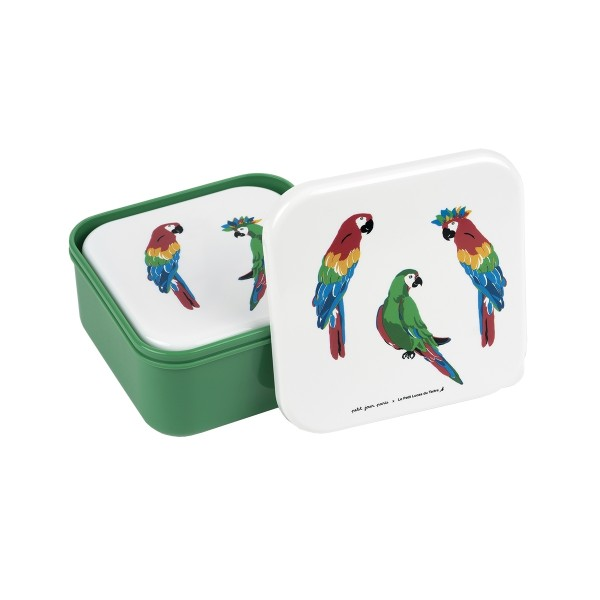 Brotbox Set Papagei