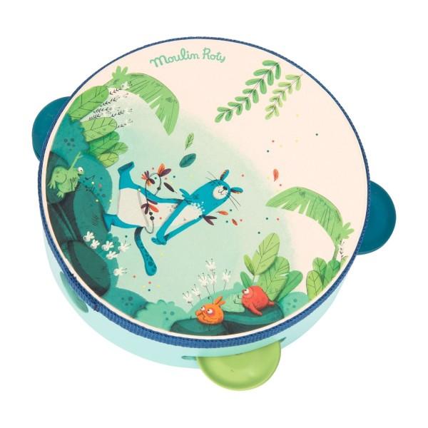 Blaues Tamburin Dans la Jungle