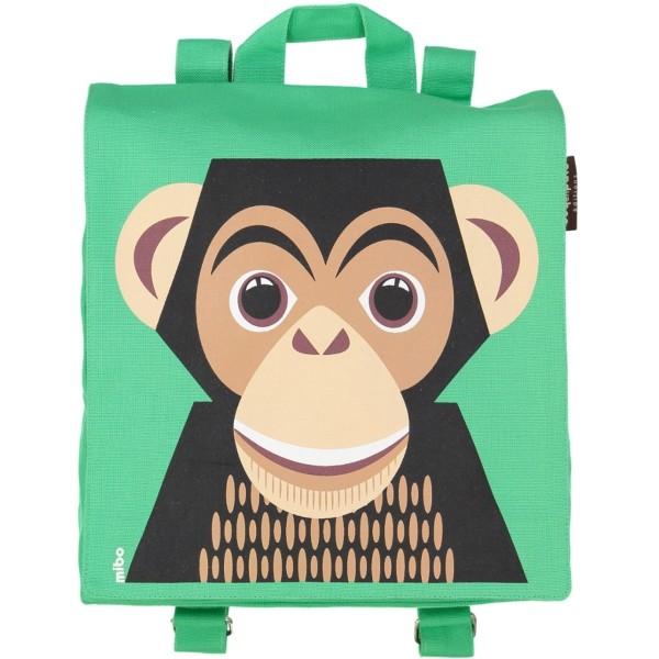 Rucksack MIBO Schimpanse - grün