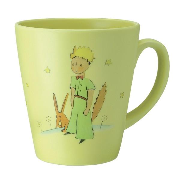 Große Tasse gelb Der kleine Prinz