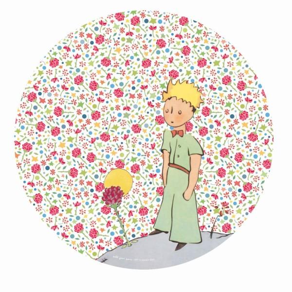 Melamin - Dessertteller rosa Der kleine Prinz
