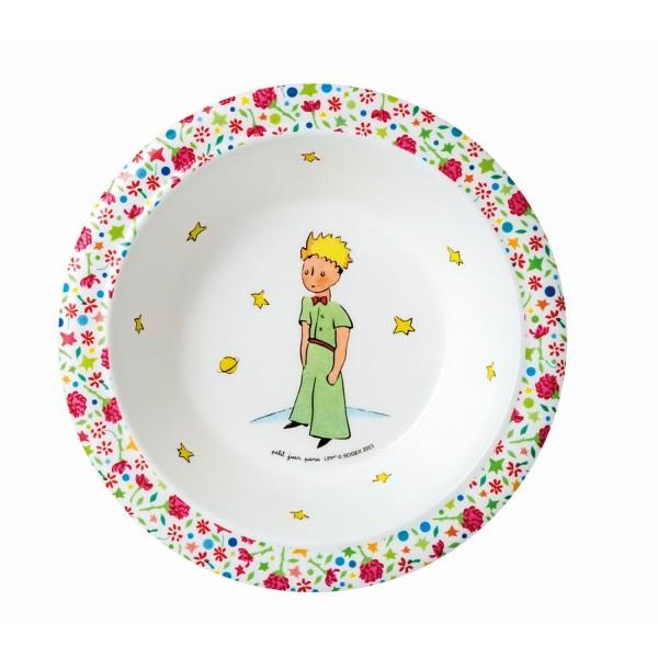 Melamin - Schale rosa Der kleine Prinz