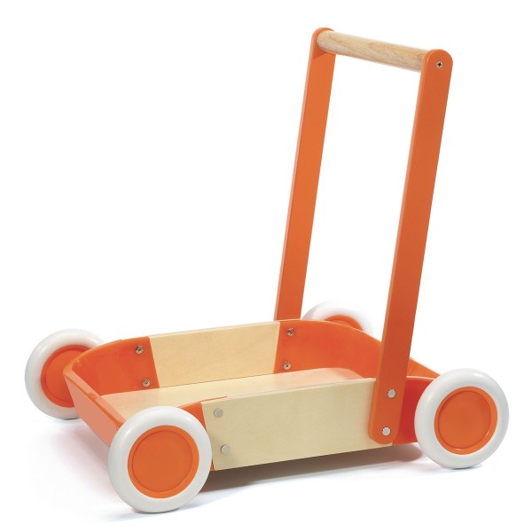 Lauflernwagen: Orange Trott''it!