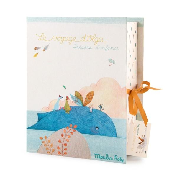 Geburts Geschenke Box Le Voyage d''Olga Französiche Version