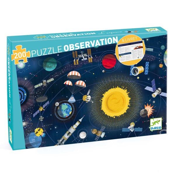 Puzzle: Der Weltraum - 200 Teile