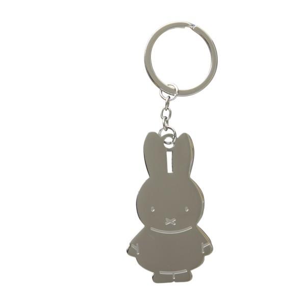 Miffy Schlüsselanhänger silber