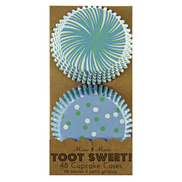 Toot Sweet Blue Muffinförmchen