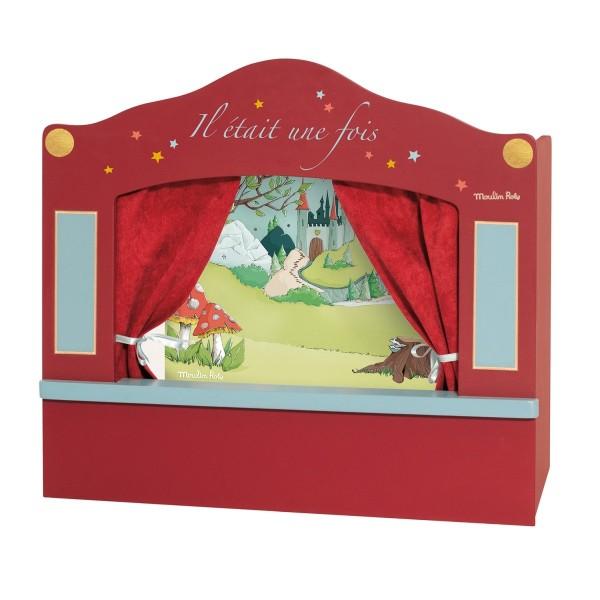 Kleines Marionettentheater, rot
