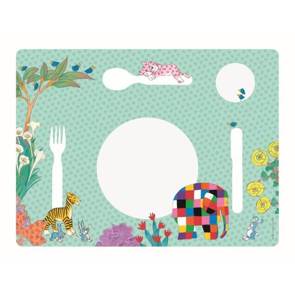 Tischset Elmer