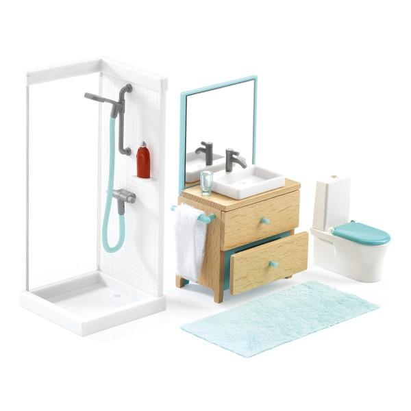 Puppenhaus Einrichtung Badezimmer