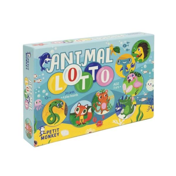 Lotto Spiel Tiere