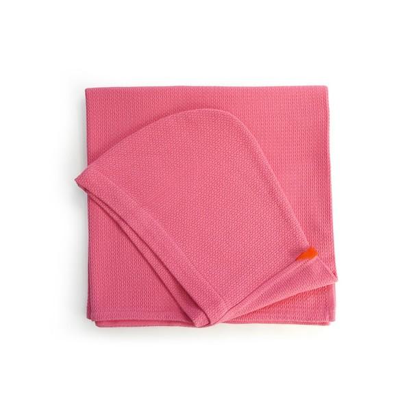 Biobu Kinder-Kapuzenhandtuch Flamingo