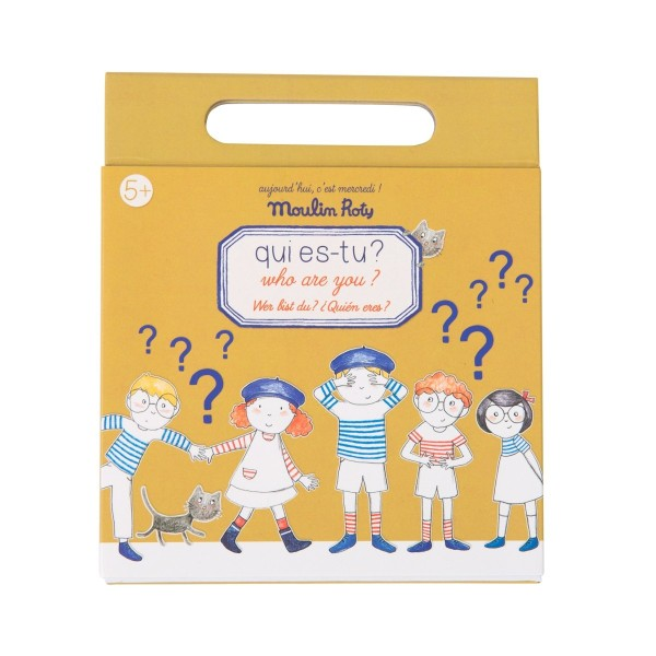 Magnetspiel: Wer bist Du?
