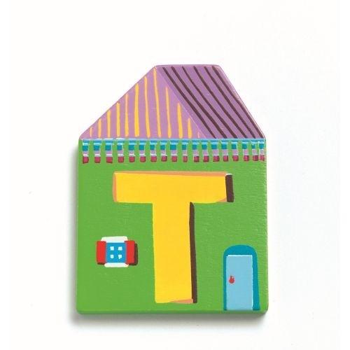 """Ausverkauft: Buchstabe Haus """"T"""""""