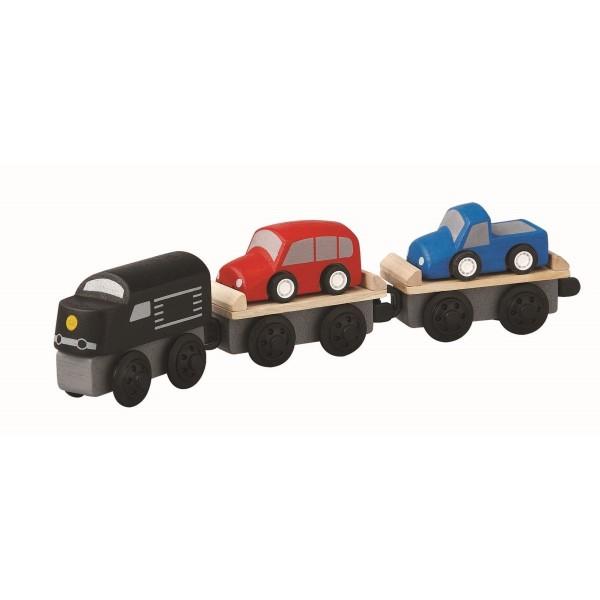 Plantoys Autotransport-Zug