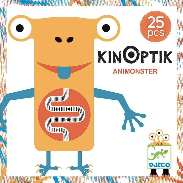 DJECO Kinoptik: Animonster - 25 Teile