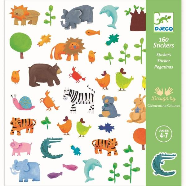 DJECO Sticker: Tiere