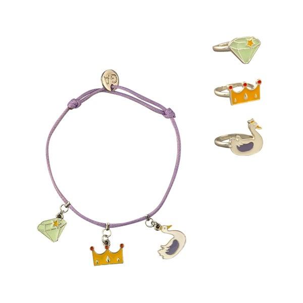 Armband und Ringe Royalty