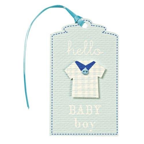 MERI MERI Geschenkanhänger Baby Blue
