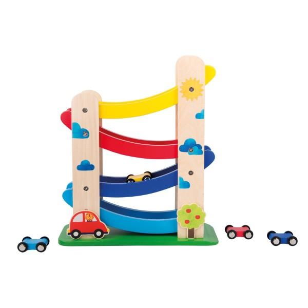 Auto-Rollbahn