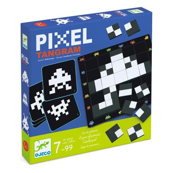 DJECO Spiel Pixel Tangram