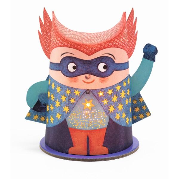 Mini-Nachtlicht Mister Super